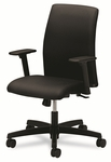 HON® Ignition Series Low-Back Task Chair,  Black Fabric Upholstery [HONIT105NT10-FS-NAT]