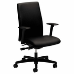 HON® Ignition Series Mid-Back Work Chair - Black Fabric Upholstery [HONIW104NT10-FS-NAT]