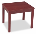 HON® Laminate Occasional Table - Rectangular - 24w x 20d x 20h - Mahogany [HON80193NN-FS-NAT]