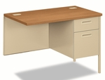 HON® Metro Classic Series Workstation Return - Right - 42w x 24d - Harvest/Putty [HONP3235RCL-FS-NAT]