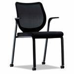 HON® Nucleus Series Multipurpose Chair - Black ilira-stretch M4 Back - Black [HONN606NT10-FS-NAT]