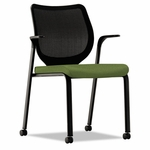HON® Nucleus Series Multipurpose Chair,  Black Ilira-Stretch M4 Back,  Clover Seat,  Black [HONN606NR74-FS-NAT]