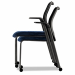 HON® Nucleus Series Multipurpose Chair,Black Ilira-Stretch M4 Back,Mariner Seat,Black [HONN606NT90-FS-NAT]