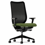 HON® Nucleus Series Work Chair - Black ilira-stretch M4 Back - Clover Seat [HONN103NR74-FS-NAT]