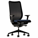 HON® Nucleus Series Work Chair - Black ilira-stretch M4 Back - Mariner Seat [HONN103NT90-FS-NAT]