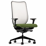 HON® Nucleus Series Work Chair - Fog ilira-stretch M4 Back - Clover Seat [HONN102NR74-FS-NAT]