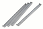 HON® Single Cross Rails for 30''W and 36''W Lateral Files,  Gray,  Set of 4 [HON919491-FS-NAT]
