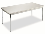 HON® Utility Table - Rectangular - 72w x 36d x 29h - Light Gray [HONUTM3672QQCHR-FS-NAT]