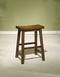 Honey Brown Counter Stool [455-430-FS-PO]