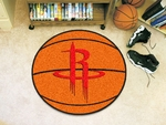 Houston Rockets Basketball Mat 27'' Diameter [10212-FS-FAN]