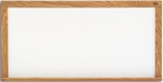HPL Markerboard with Solid Oak Wood Trim - 24''H x 36''W [LW-203-MSH]
