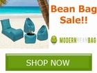 Huge Savings on ALL Modern Bean Bag by