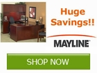Huge Savings on select Office Furniture by Mayline by