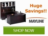 Save now on Mayline Office Furniture and Training Tables!!