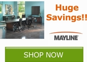 Huge Savings on Select Mayline Items!! Save Now!!