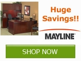 Huge Savings on select Office Furniture by Mayline Group!
