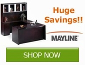 Huge Savings on your Office Furniture from Mayline Group!