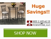 Save 10% on ALL Hillsdale Furniture!!