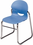 I.Q. Series Sled Base Stack Chair with 13''H Seat [264613-VCO]