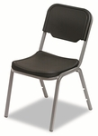 Iceberg Rough N Ready Original Stack Chair -   Resin -   Black -   Set of 4 [ICE64011-FS-NAT]