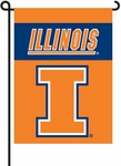 Illinois Fighting Illini 2-Sided Garden Flag [83041-FS-BSI]