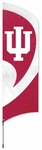 Indiana Hoosiers Tall Team Flag w/ Pole [TTIU-FS-PAI]