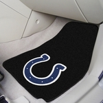 Indianapolis Colts Carpet Car Mat 2 Pc 18'' x 27'' [5747-FS-FAN]