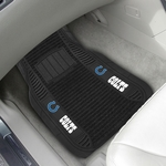 Indianapolis Colts Deluxe Car Mat 2 Pc 20'' x 27'' [13792-FS-FAN]