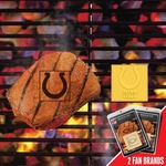 Indianapolis Colts Fan Brands 2 Pc 2'' x 2'' [13205-FS-FAN]