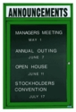 Indoor Enclosed Directory Boards