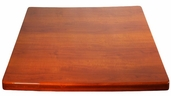Cherry Resin 24'' x 24'' Square Indoor Table Top