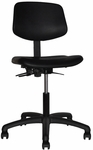 Indy 300 Series Small Back Single Shift Adjustable Swivel and Seat Height Task Chair [IN212-M20-FS-SEA]