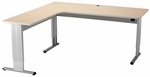 Infinity L-Shape Desk with Motorized Adjustment [IN-7230-L-ADAS]