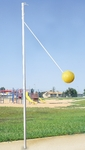 Inground Tetherball Pole and Ground Sleeve [TB100P-BIS]