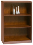 Insignia Series 44''H Wooden Bookcase with 3 Shelves - Luna Cherry [I-CBC-3244-LC-FS-CPL]