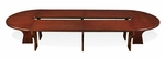 OSP Furniture Intelligent Modular Conference Table - Cherry [SON-105-FS-OS]