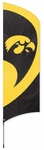 Iowa Hawkeyes Tall Team Flag w/ Pole [TTIA-FS-PAI]