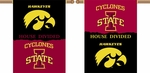 Iowa - Iowa State 2-Sided 28'' X 40'' Banner with Pole Sleeve House Divided [96922-FS-BSI]