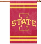 Iowa State Cyclones Applique Banner Flag [AFIAS-FS-PAI]