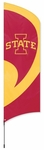 Iowa State Cyclones Tall Team Flag w/ Pole [TTIAS-FS-PAI]