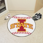 Iowa State University Baseball Mat 27'' Diameter [8-FS-FAN]