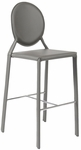 Isabella-B Bar Chair in Gray (Set of 2) [02482GRY-FS-ERS]