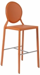 Isabella-B Bar Chair in Orange [02482ORG-FS-ERS]
