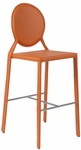 Isabella-C Counter Chair in Orange [02481ORG-FS-ERS]