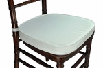 Legacy Series 2'' Thick Chiavari Chair Cushion with Velcro Tabs - Ivory [121109-MES]