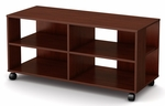 Jambory Collection Storage Unit On Casters Chocolate [4946606-FS-SS]