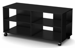 Jambory Collection Storage Unit On Casters Pure Black [4907606-FS-SS]
