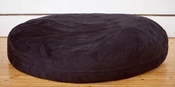 Jaxx Cocoon 6 ft Bean Bag - Black Microsuede