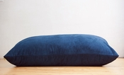 Pillow Saxx Bean Bag Pillow - Navy Microsuede