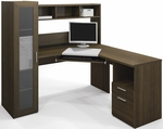 Jazz Corner Workstation in Tuxedo [90432-78-FS-BS]